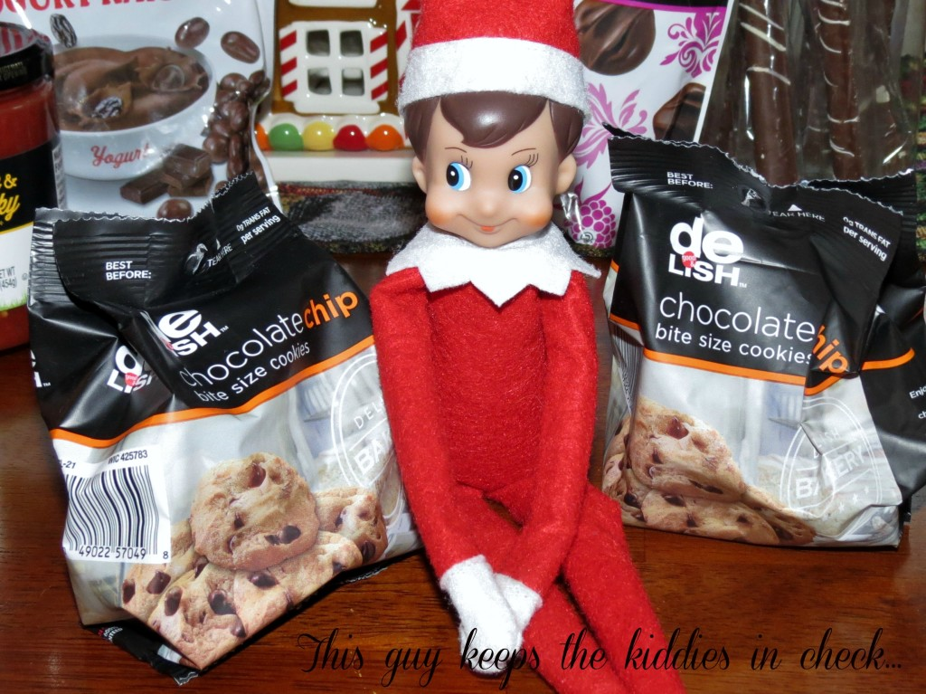Elf on the Shelf good delish #HappyAllTheWay #shop #cbias