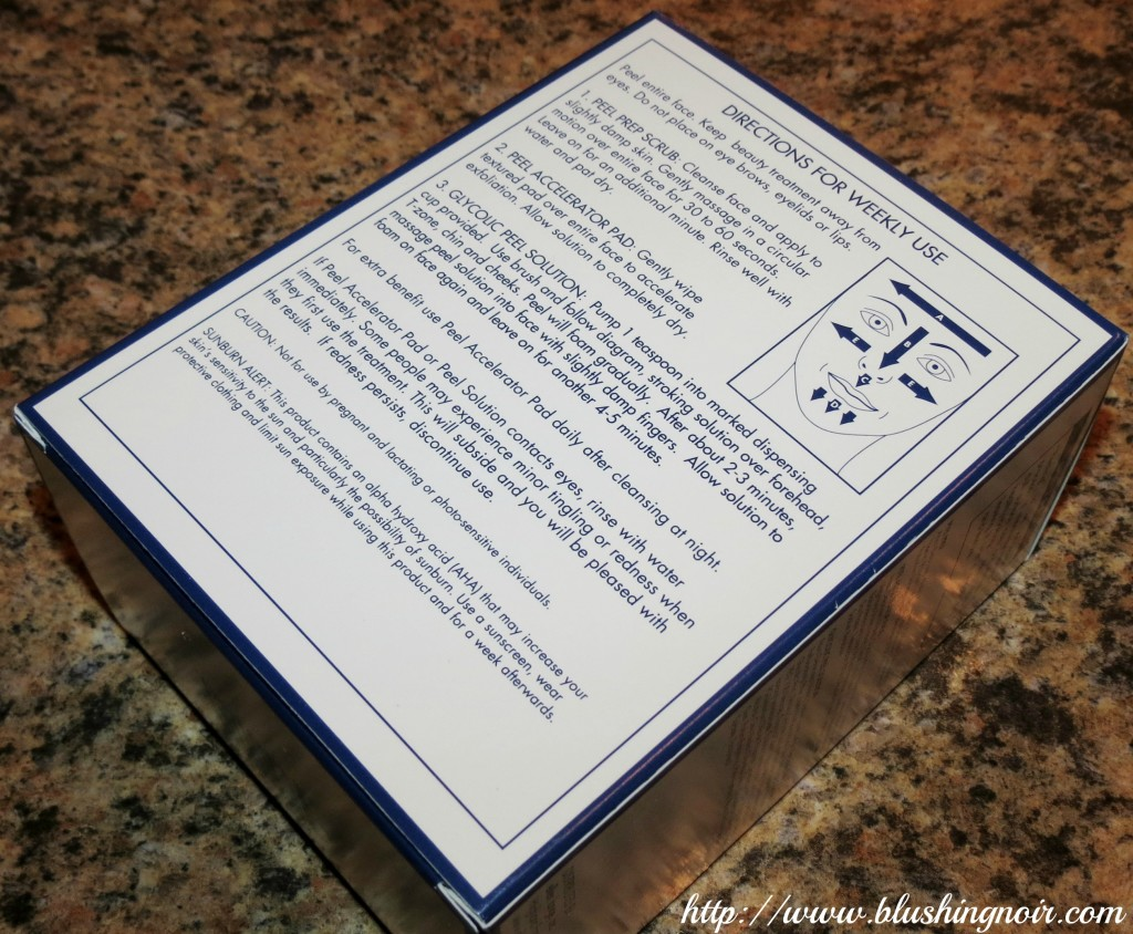 Ellen Lange Retexturizing Peel Kit 2