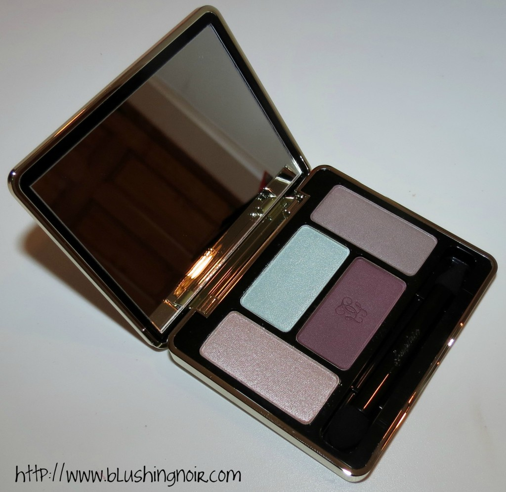 Guerlain 503 LES TENDRES Écrin 4 Couleurs Eyeshadow Palette review