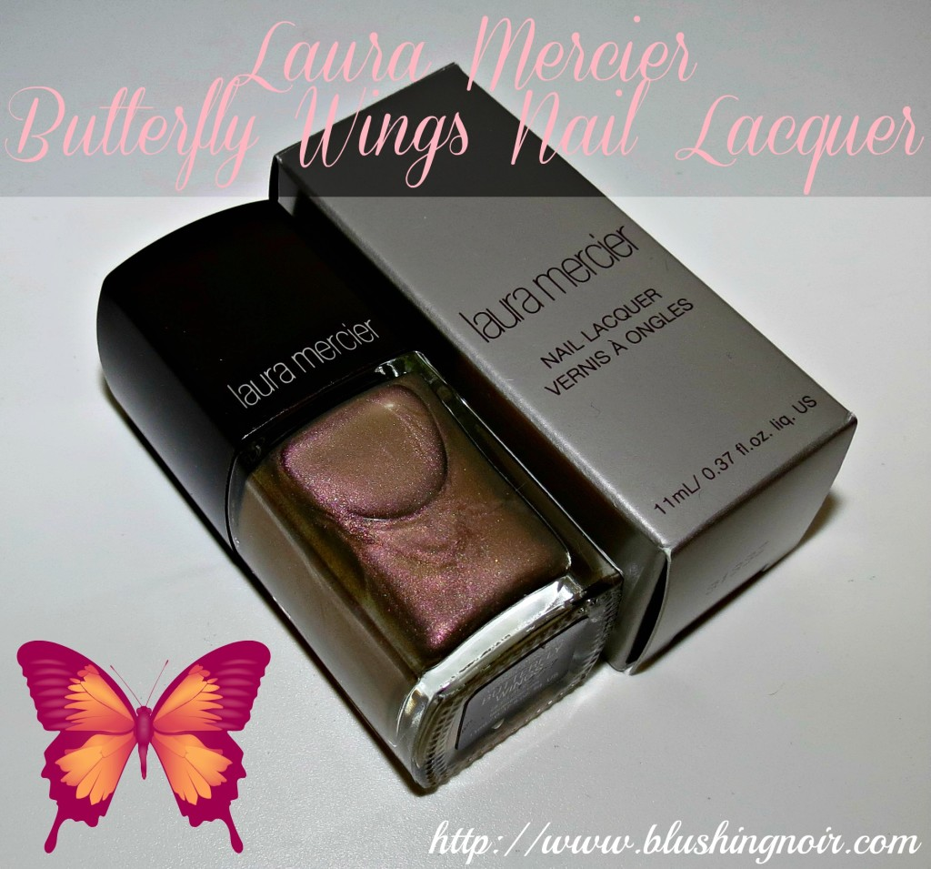 Laura Mercier Butterfly Wings Nail Lacquer