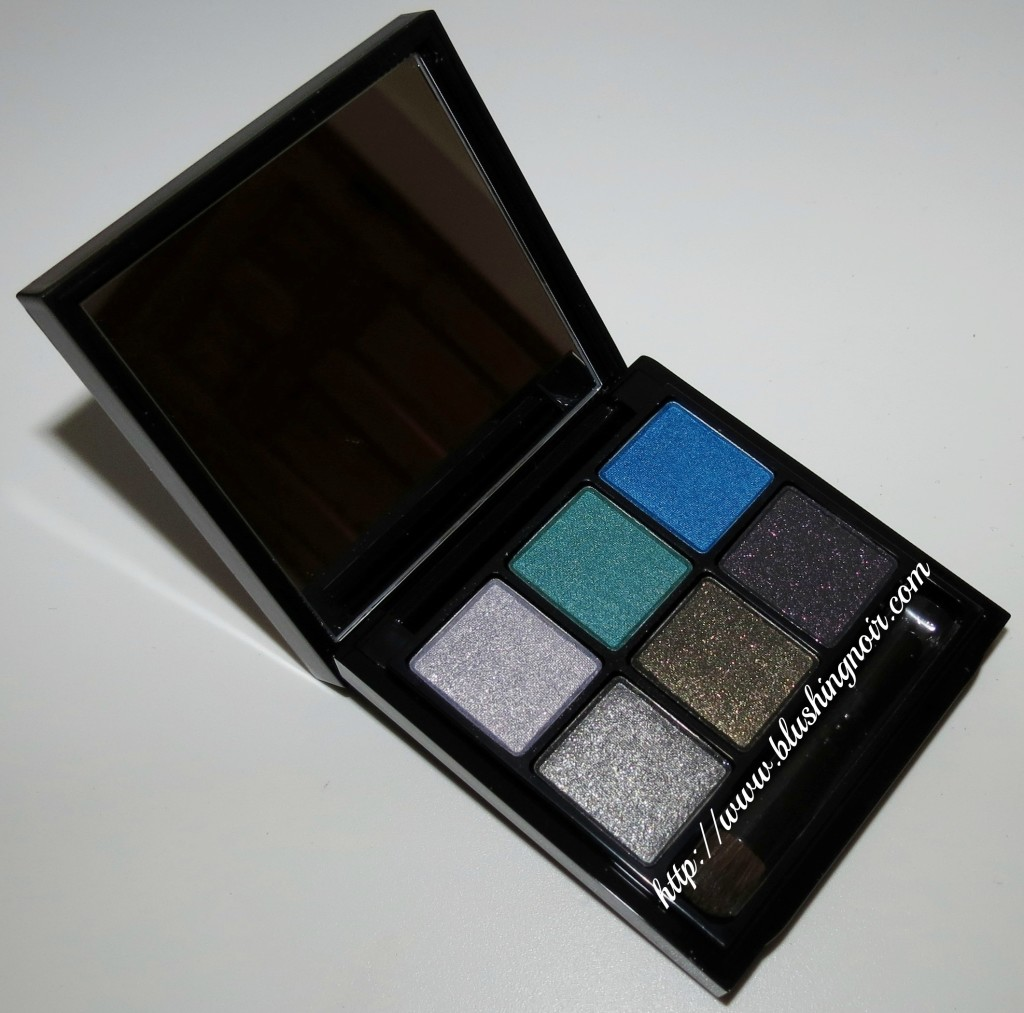 MAC Antonio Lopez 6 Eyes Palette Teal open