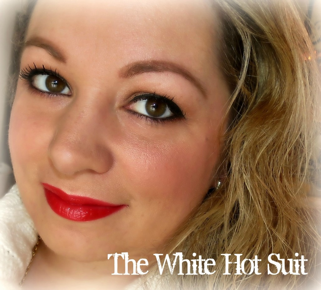 Mary Kay The White-Hot Suit look #MKHolidayLook #MKTrend