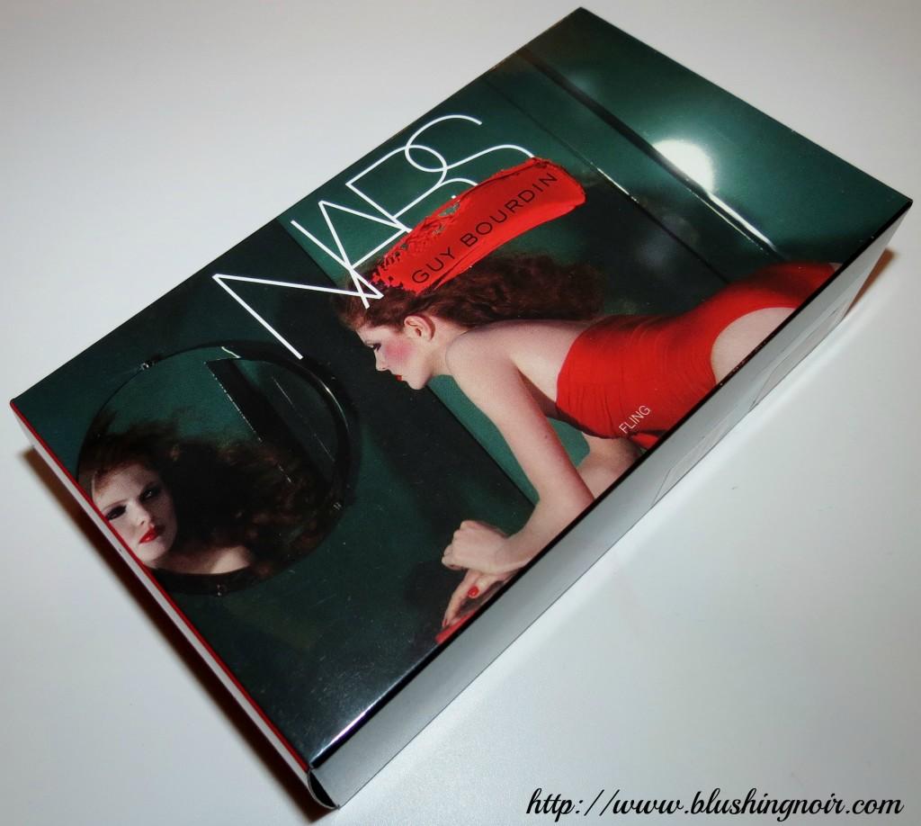 NARS Guy Bourdin Fling Lip Kit box