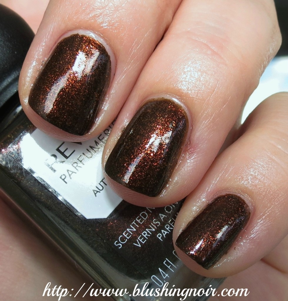 Revlon Autumn Spice Nail Polish swatches