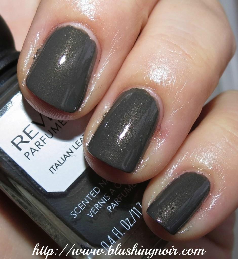 Revlon Italian Leather Nail Polish swatches
