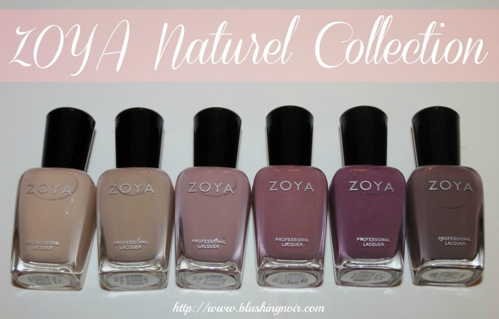 ZOYA Nail Polish Naturel Collection 2014