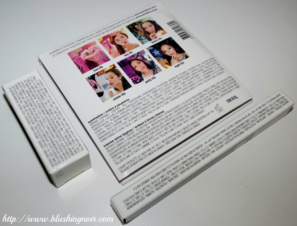 em cosmetics packaging back