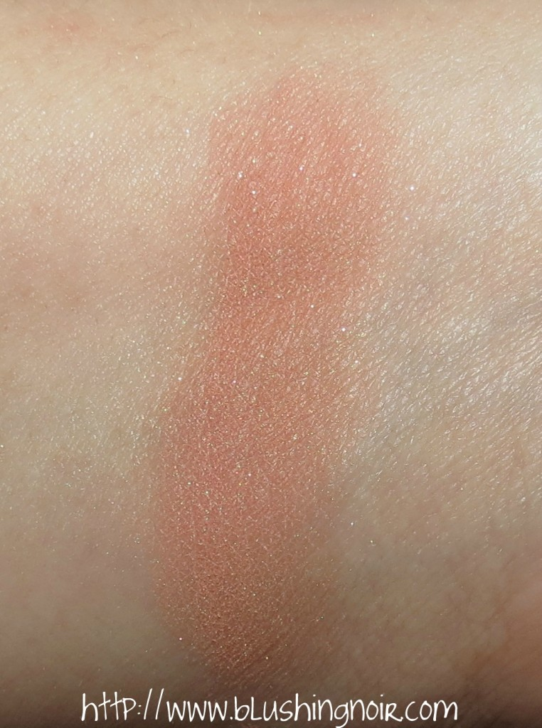 Bella Pierre Cosmetics Desert Rose Mineral Blush Swatches