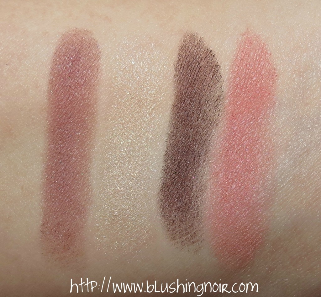 Chanel 537 QUADRILLE Les 4 Ombres Quadra Eyeshadow Palette Swatches