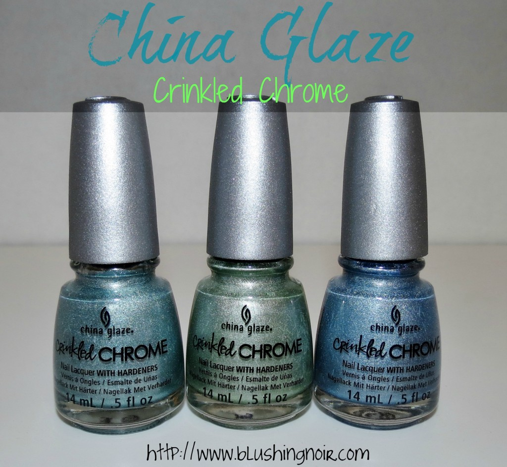 China Glaze Crinkled Chrome Nail Polish review