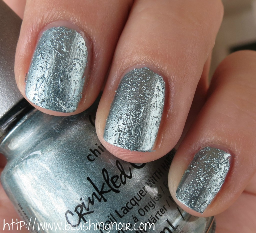 China Glaze Don't Be Foiled Nail Polish Swatches 2