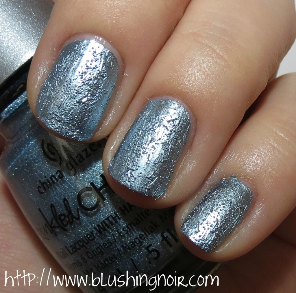 China Glaze Iron Out The Details Nail Polish Swatches