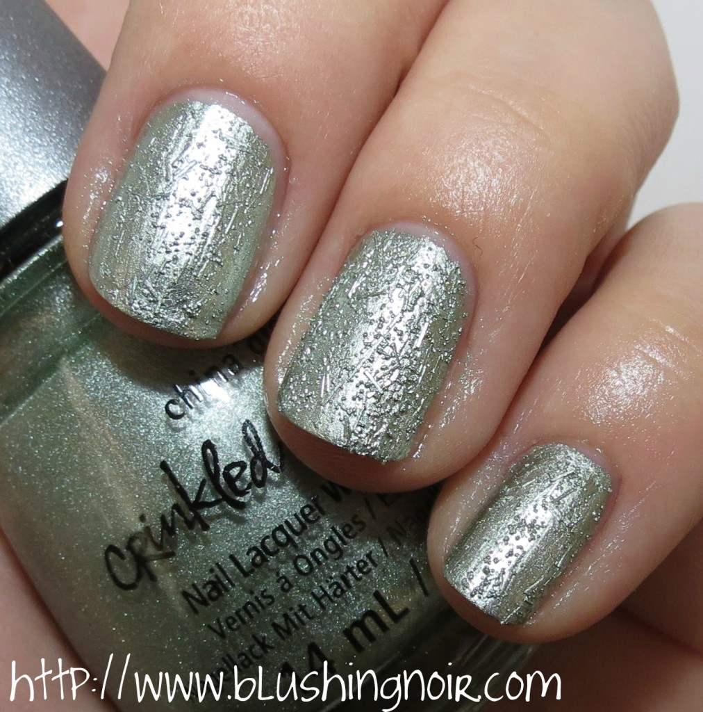 China Glaze Wrinking the sheets Nail Polish Swatches