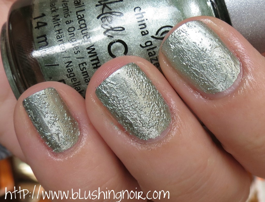China Glaze Wrinking the sheets Nail Polish Swatches 2