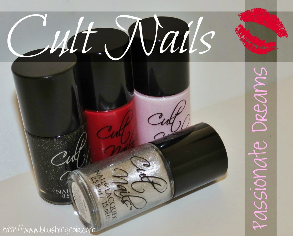 Cult Nails Passionate Dreams Nail Polish Collection Swatches Review