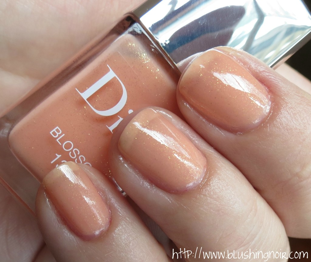 Dior 132 BLOSSOM Le Vernis Nail Polish Swatches 2