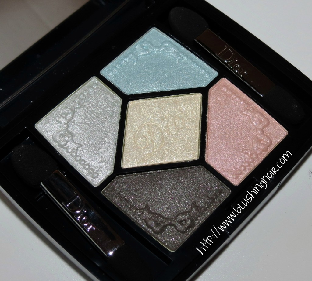Dior 234 Pastel Fontanges 5 Couleurs Couture Colour Eyeshadow Palette Swatches Review