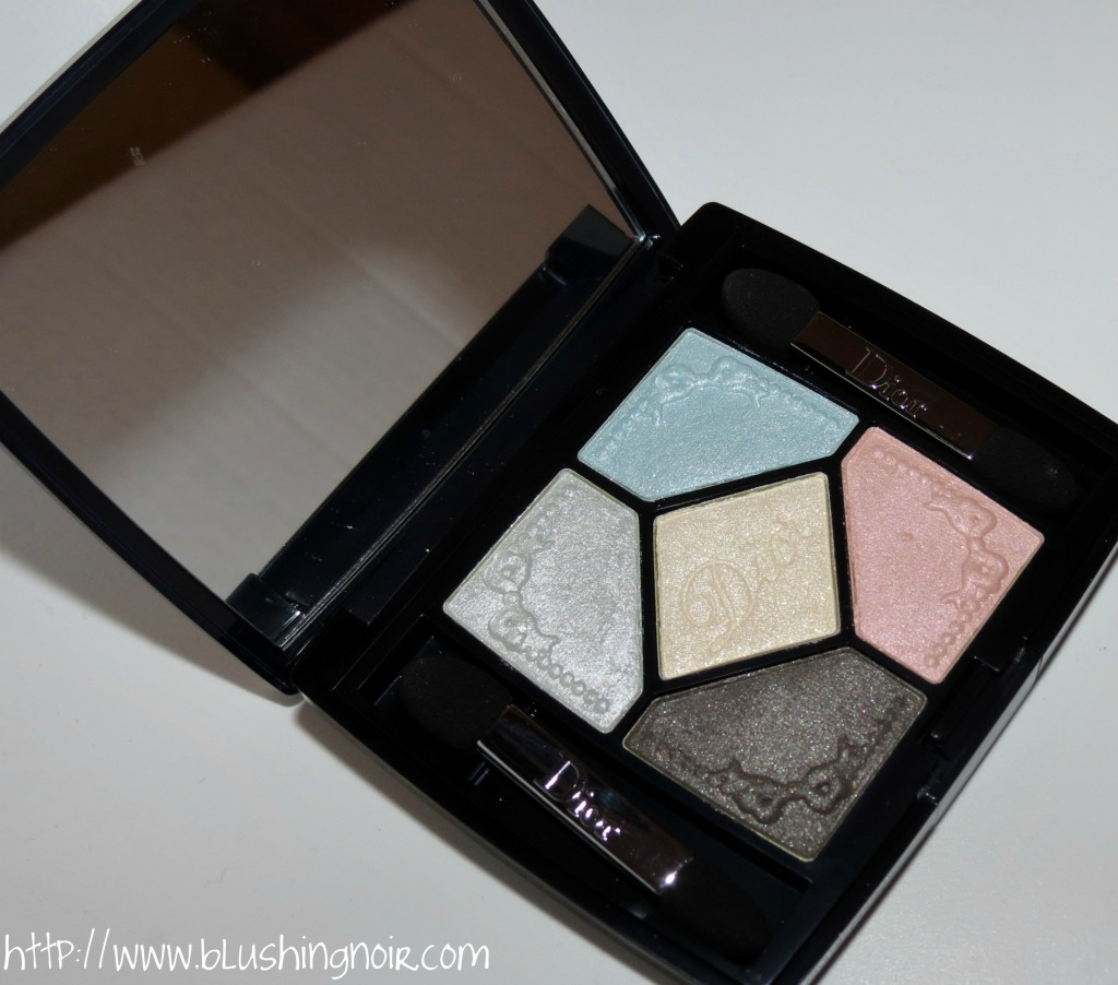 Dior 234 Pastel Fontanges 5 Couleurs Couture Colour Eyeshadow Palette Swatches Review Eye Look
