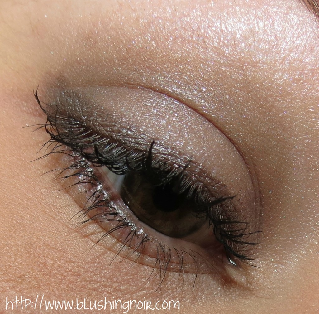 Dior 234 Pastel Fontanges 5 Couleurs Couture Colour Eyeshadow Palette Swatches Review eye look 2