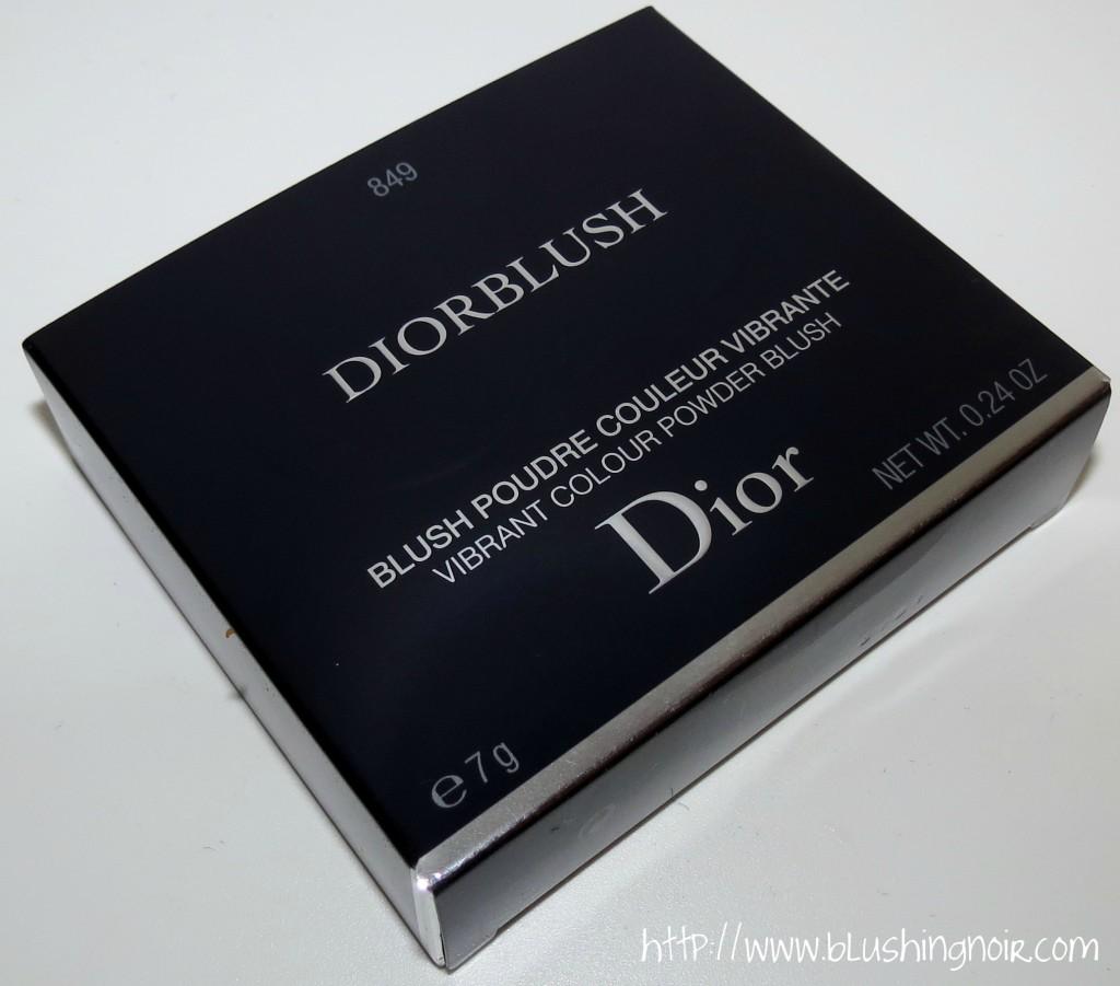 Dior 849 Mimi Bronze Vibrant Color Powder Blush packaging