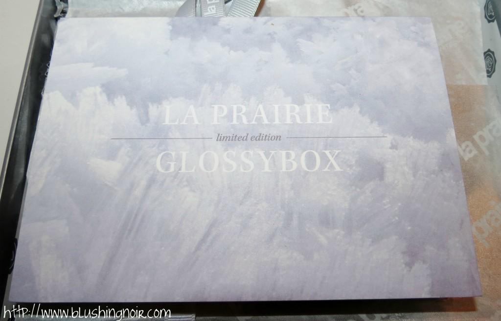 Glossybox La Prairie