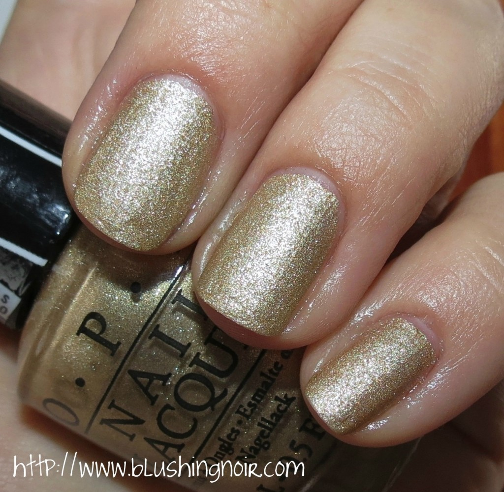 Gwen Stefani by OPI Love Angel Music Baby Nail Polish Swatches