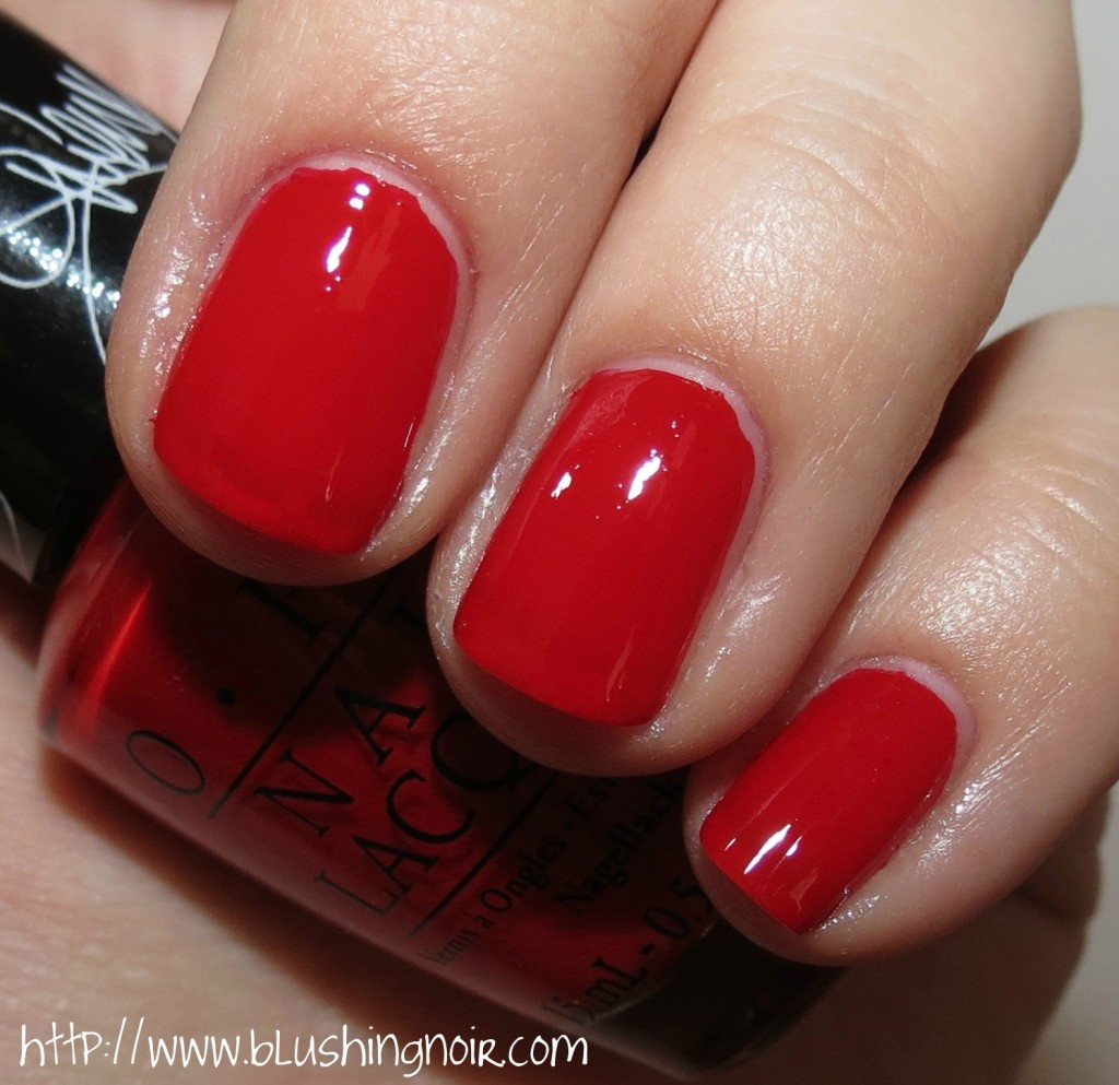 Gwen Stefani by OPI Over and Over A-Gwen Nail Polish Swatches