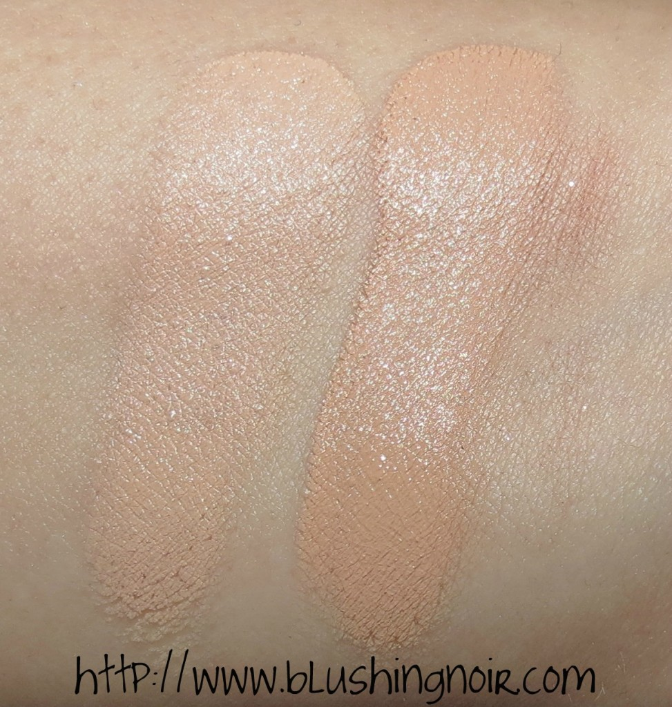 Illamasqua Light 1 - Light 2 Skin Base Lift Brightening Concealer Swatches