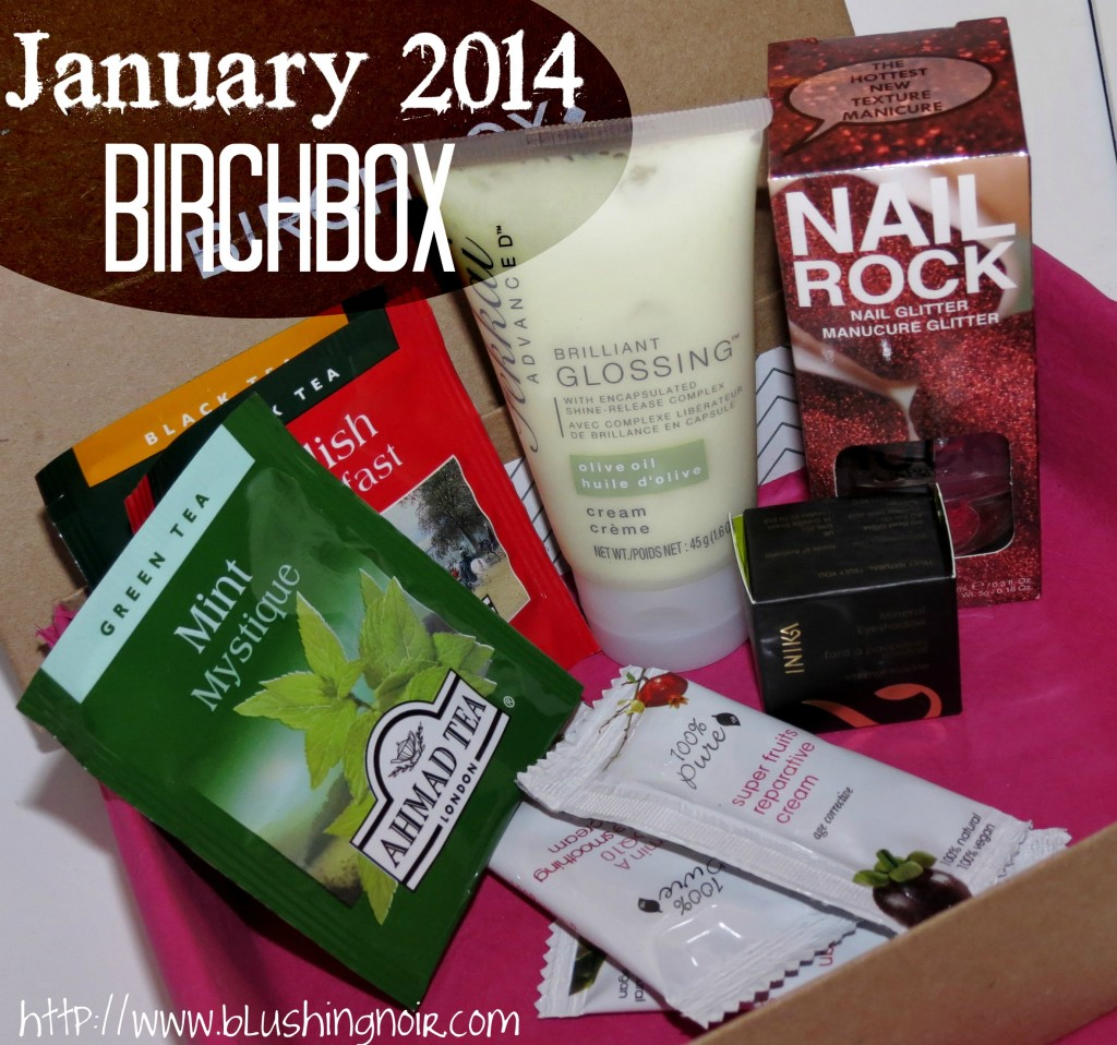 January 2014 Birchbox Swatches Review