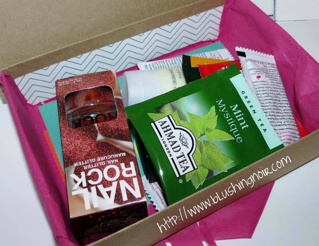 January 2014 Birchbox opening
