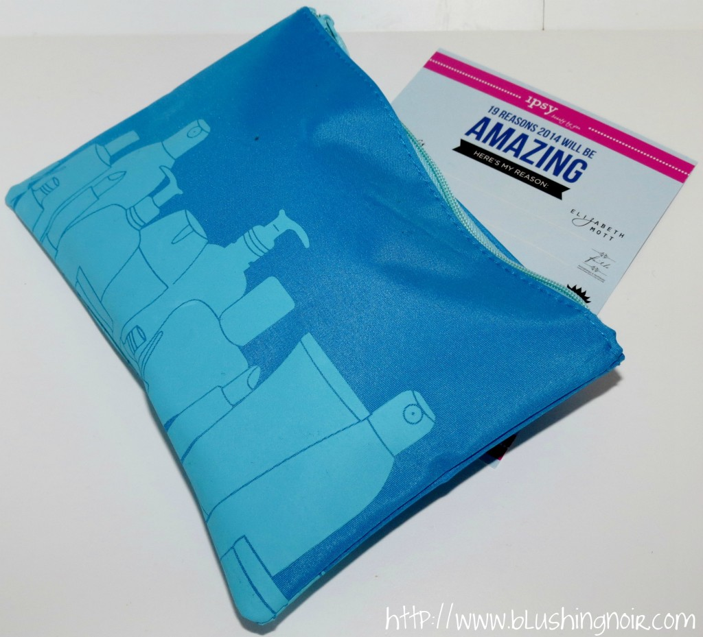 January 2014 ipsy Glam Bag Review & Swatches