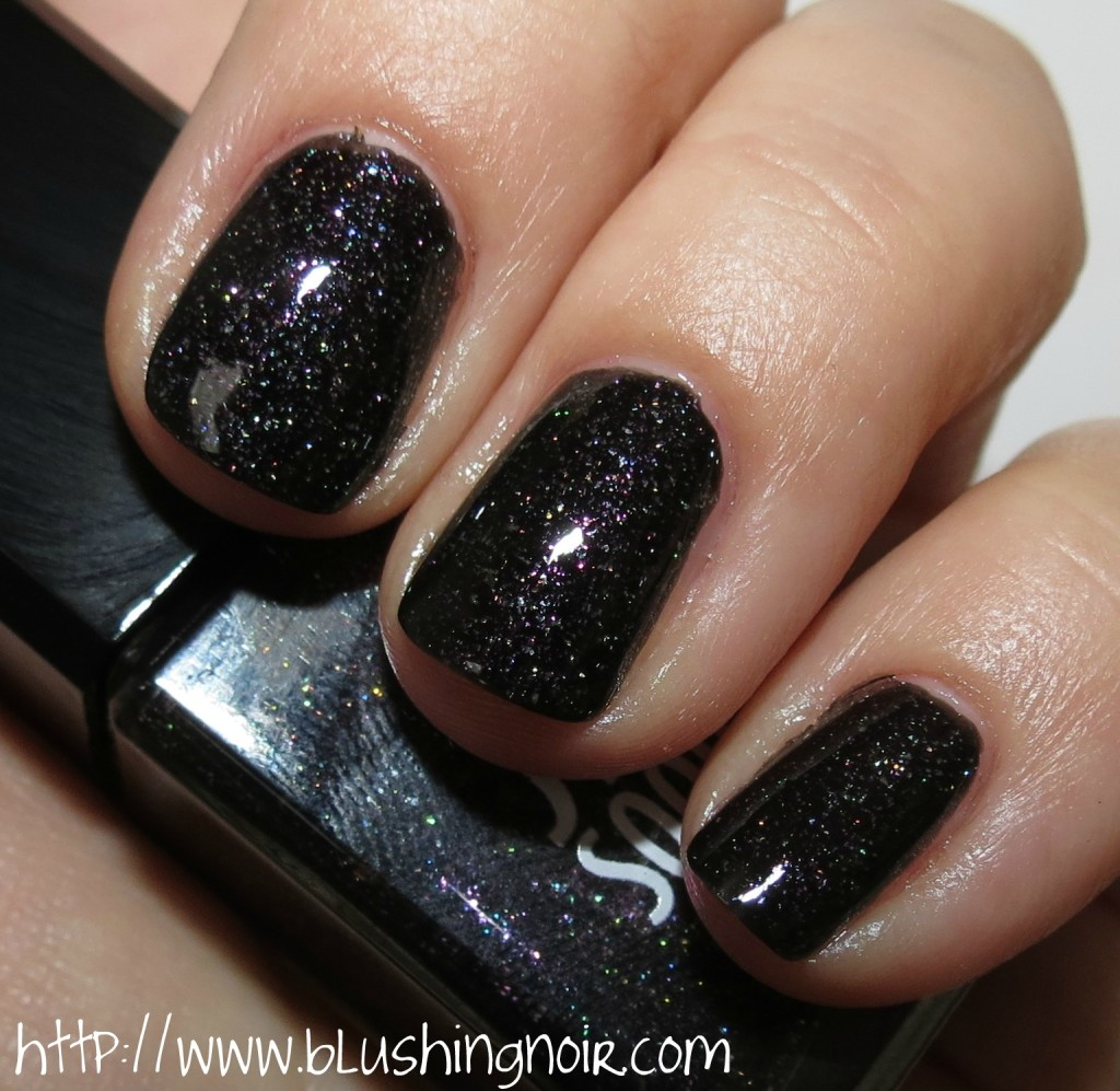 Jin Soon Obsidian Nail Lacquer Swatches