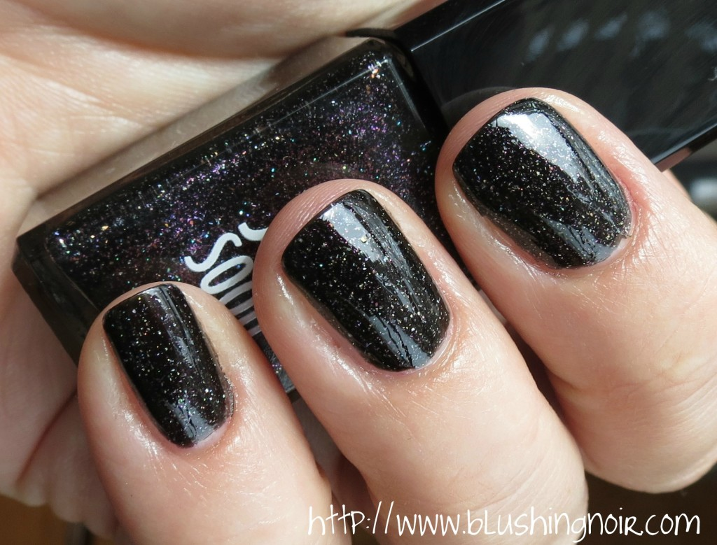Jin Soon Obsidian Nail Lacquer Swatches 3