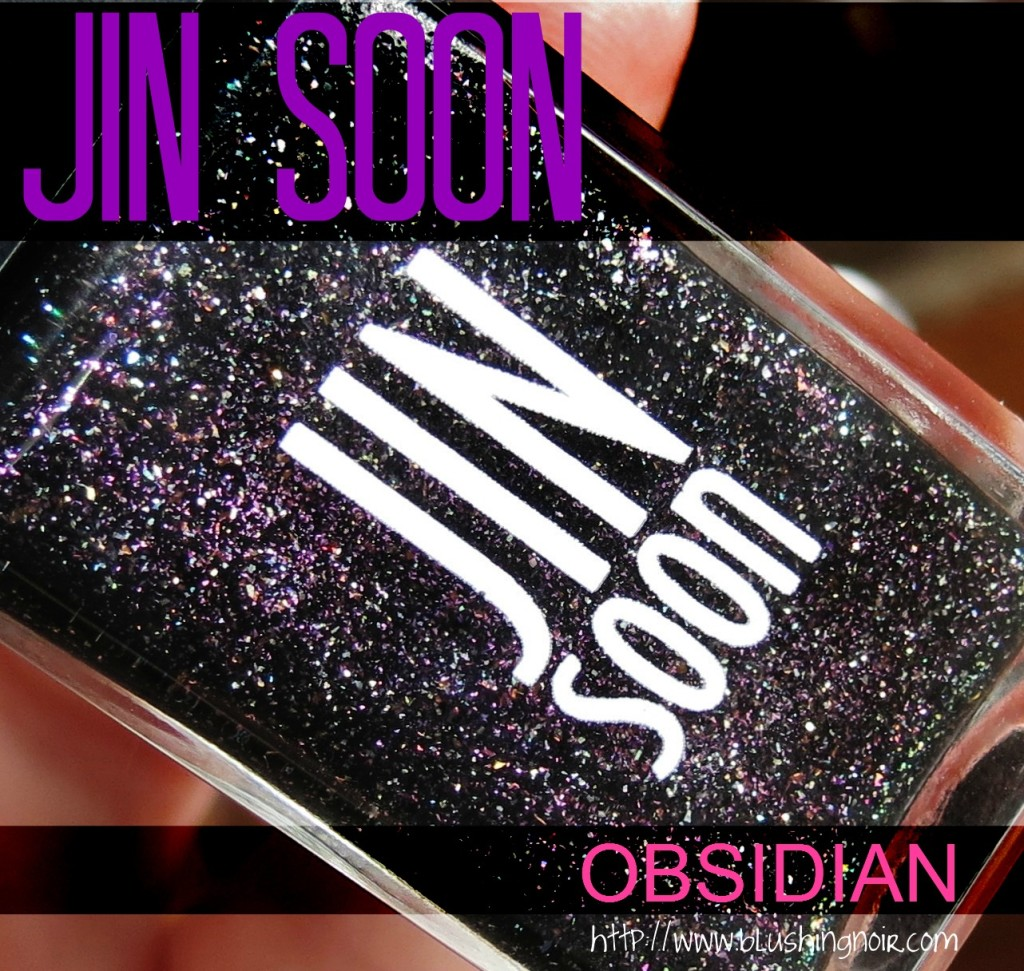 Jin Soon Obsidian Nail Polish Swatches Review Tibi