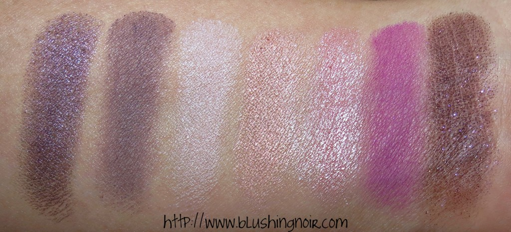 Marc Jacobs THE TEASE 202 Style Eye-Con No.7 – Plush Shadow Swatches