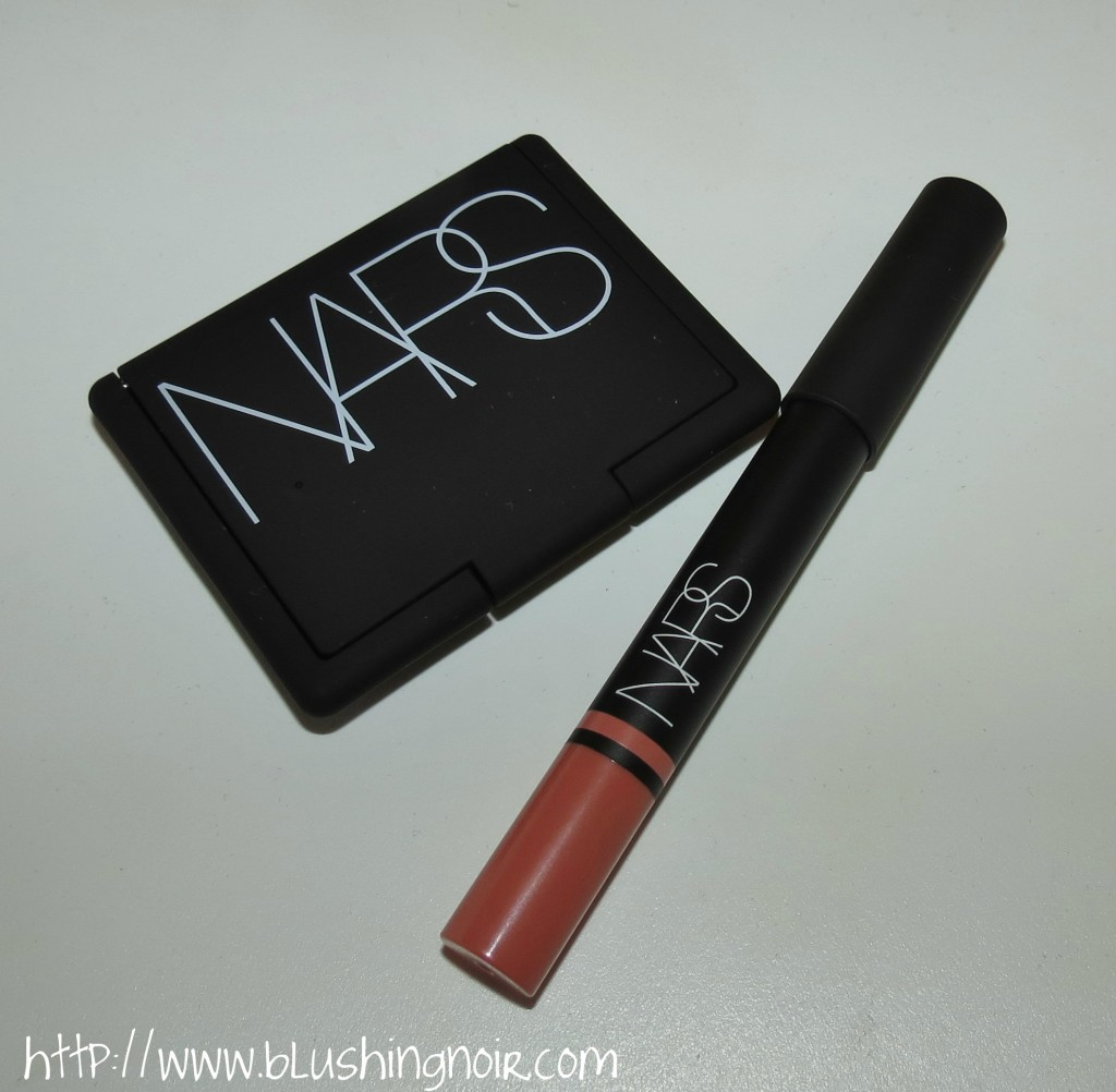 NARS Love Blush & Descanso Satin Lip Pencil Swatches Review