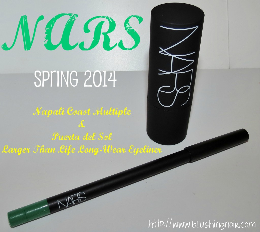 NARS Spring 2014 swatches review
