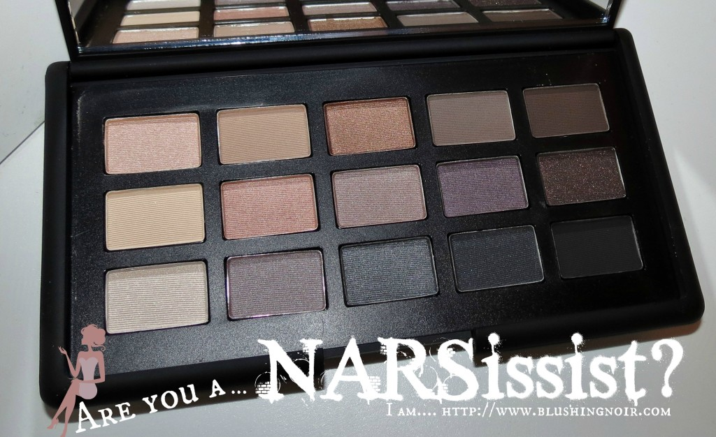 NARS The NARSissist Eye Palette Swatches Review