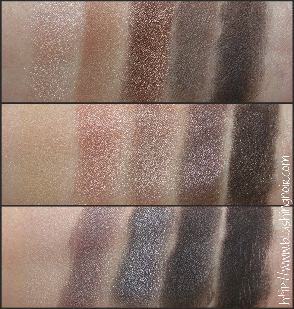 NARS The NARSissist Eye Palette Swatches