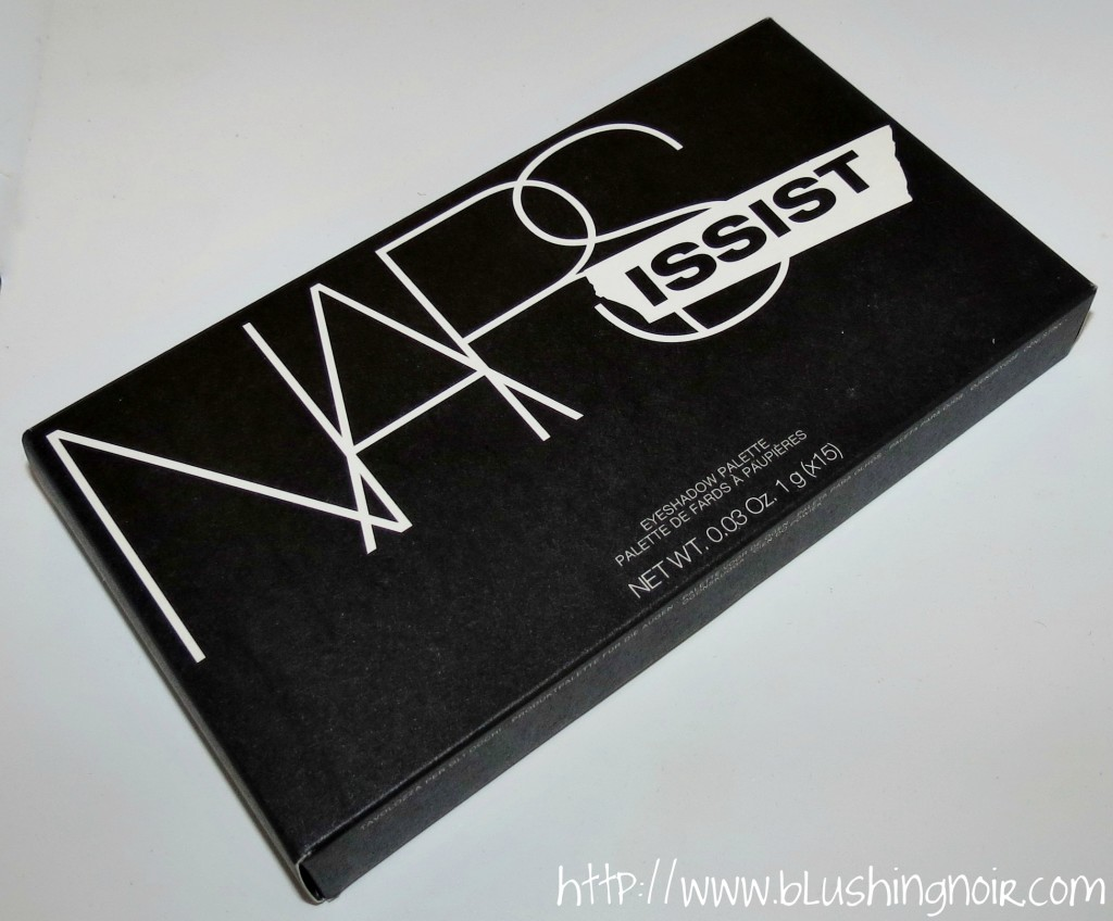 NARS The NARSissist Eye Palette packaging