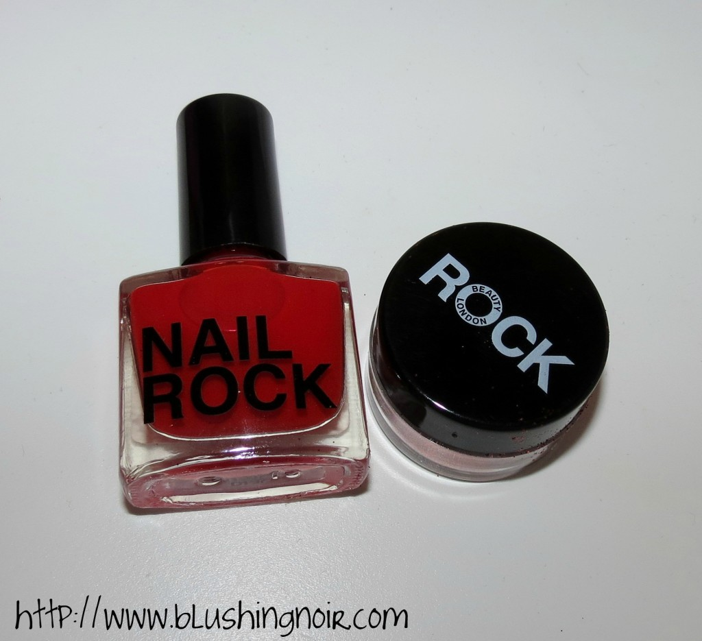 Nail Rock Red Glitter Dust Review