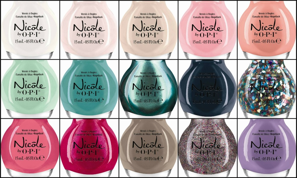 Nicole by OPI 2014 Nail Lacquers