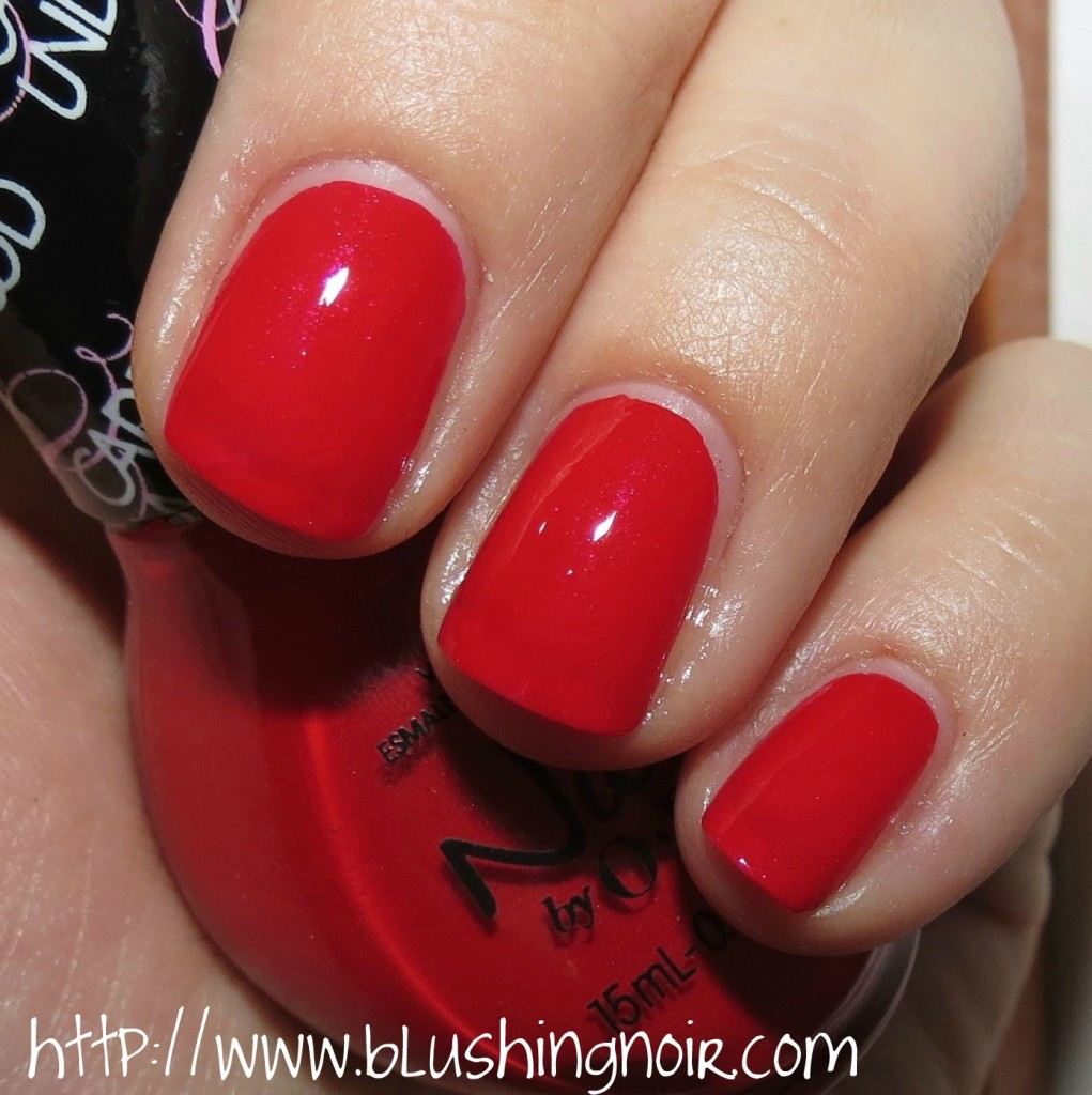 Nicole by OPI American As Apple Pie Nail Polish Swatches