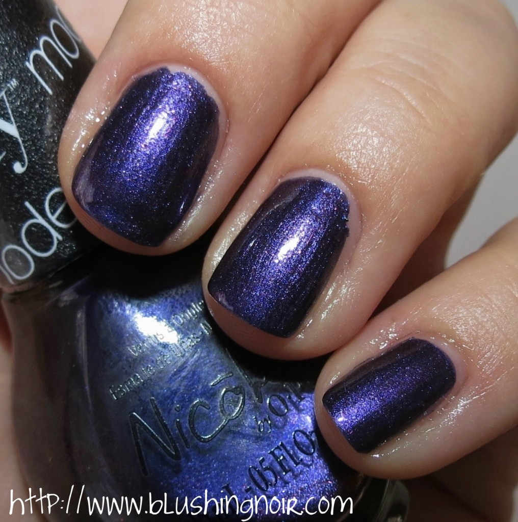 Nicole by OPI Aren't Families Grape Nail Polish Swatches