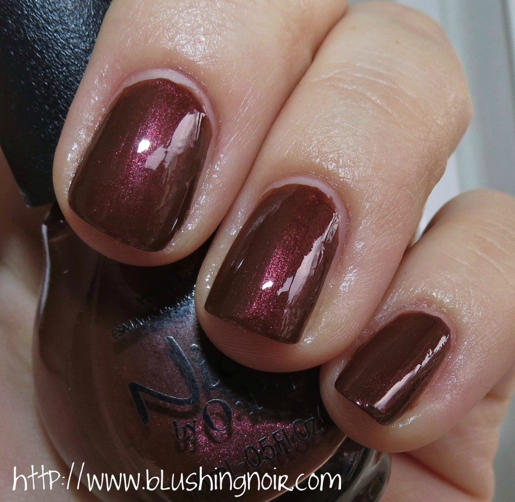 Nicole by OPI Better After Dark Nail Polish Swatches