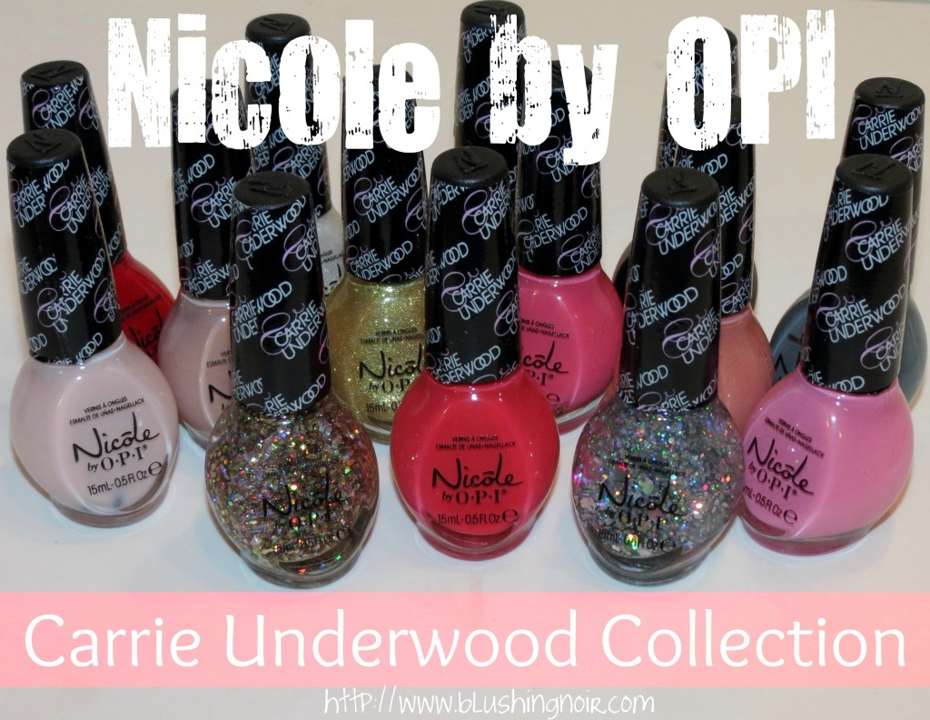 Nicole by OPI Carrie Underwood Nail Polish Collection Swatches Review