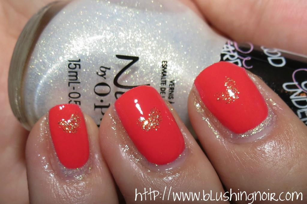 Nicole by OPI Carrie Underwood Valentine's Day Nail Art