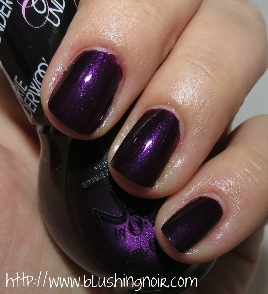 Nicole by OPI Fisher Queen Nail Polish Swatches