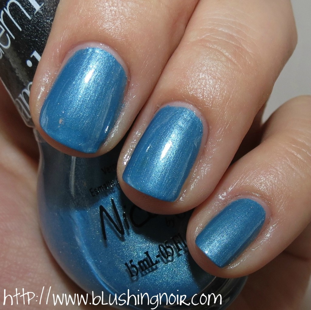 Nicole by OPI Late Blu-mer Nail Polish Swatches