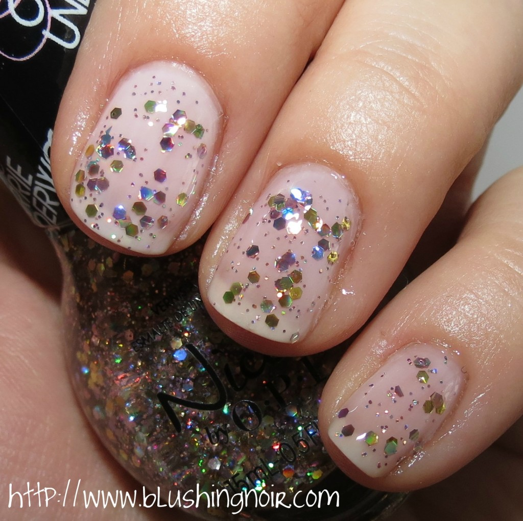 Nicole by OPI Lips Are Dripping Honey Nail Polish Swatches